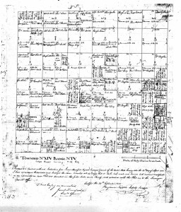 Early Land Owner Plat