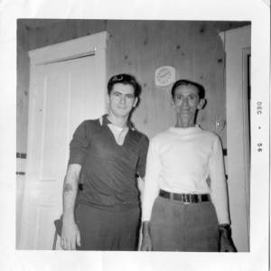 Dale and David Moore (son and father)