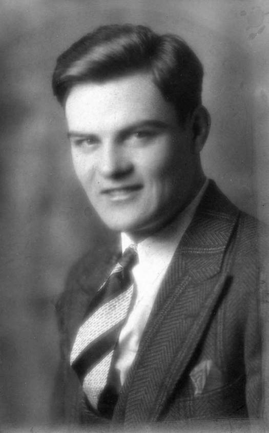 George, H.S. Graduation photo, 1928