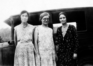 Sisters - From L to R:  Jennie, Mary, and Elsie.