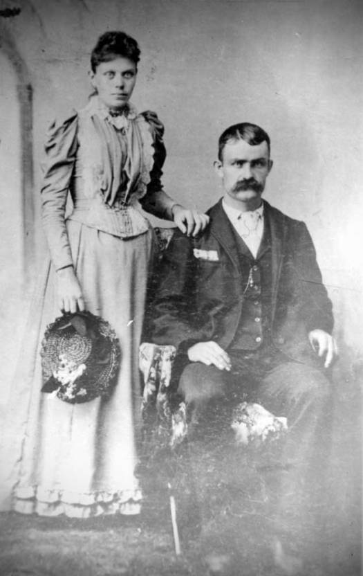 Florence Paisley and Thomas John Hackathorn