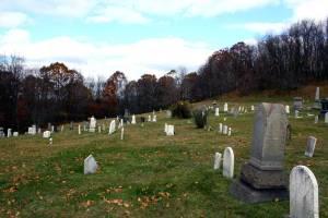 Flats Cemetery long view (Photo credit: Hollie Ann Henke)