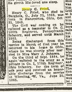 Obituary, Part 1