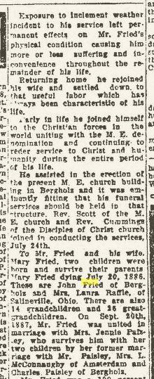 Obituary, Part 2