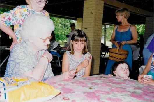 Elsie Hackathorn & great grandkids