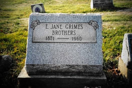 Elizabeth Jane Hackathorn Grimes Brothers