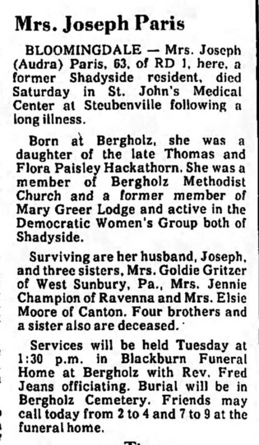 The Daily Reporter (Dover, Ohio) Monday,  29 August 1977, Page 3