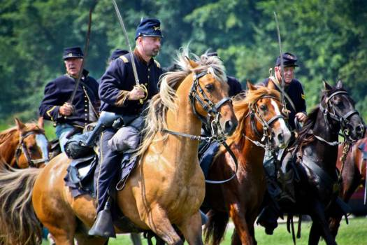 3rd Battle of Winchester Reenactment at Hale Farm & Village, 2014 (Photo by Hollie Ann Henke, all rights reserved)