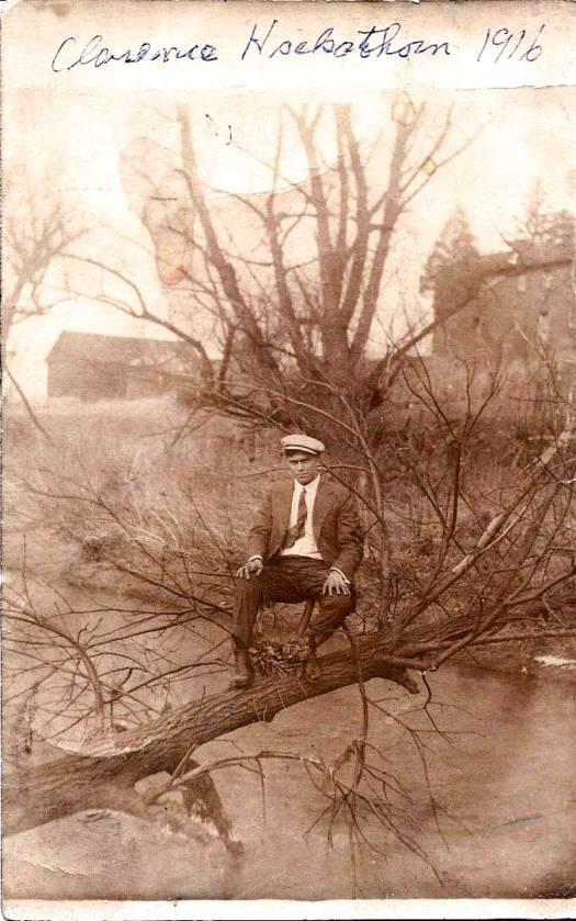 Clarence, 1916 (Photo courtesy of John Hackathorn)