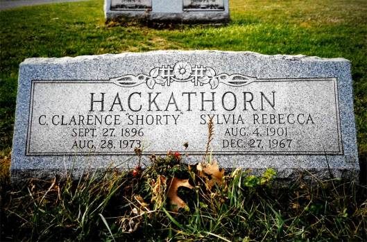 """Charles Clarence """"Shorty"""" Hackathorn ~ Bergholz Cemetery"""