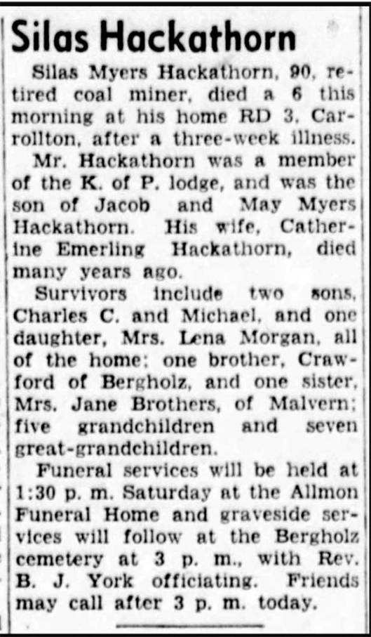 The Daily Times, New Philadelphia, Oh 18 Aug 1949, pg 20