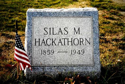 Silas Myers Hackathorn ~ Bergholz Cemetery
