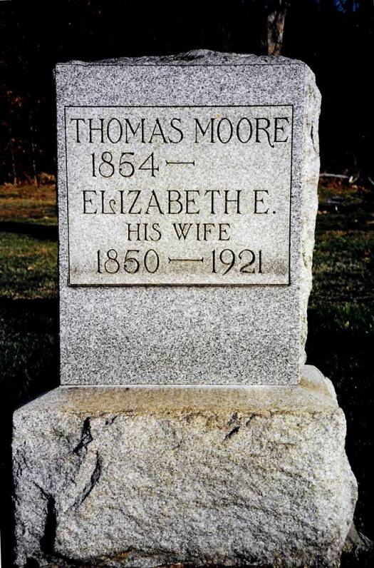 Thomas Moore ~ Bergholz Cemetery