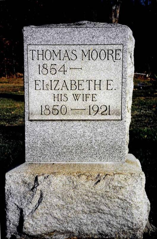 Thomas Moore ~ Bergholz Cemetery