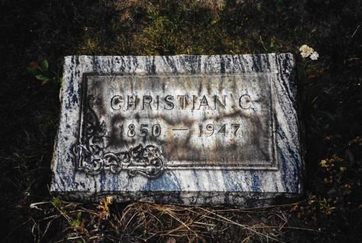 Christian Charles Hackathorn ~ Bergholz Cemetery