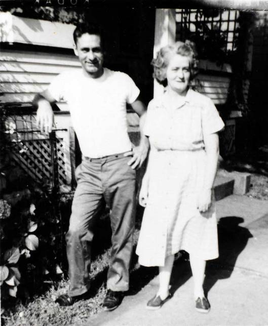 Uncle Jake (Bill Moore) and Grandma (Elsie)