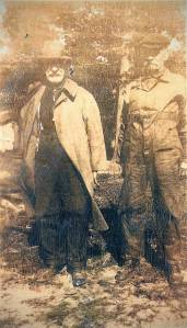 Aaron Myers (left) and William James Moore (Photo courtesy of Rosemary Hitt)