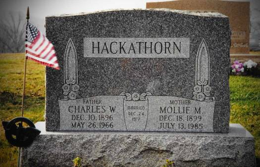 Charles William Hackathorn ~ Bergholz Cemetery