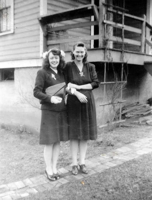 Kathleen and Aunt Goldie
