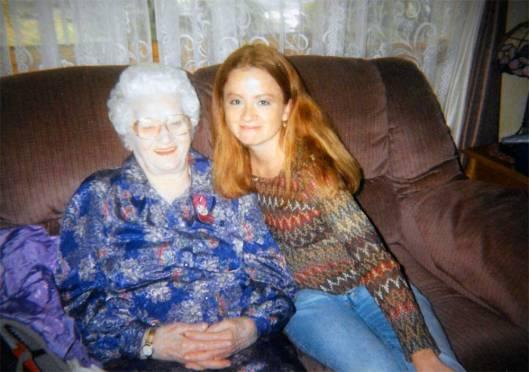 Elsie and granddaughter, Angela.