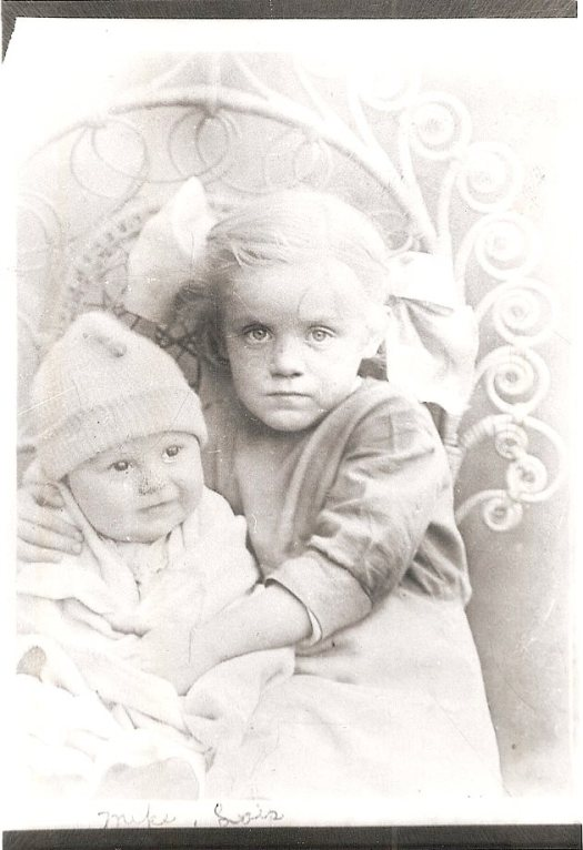 Lois (right) and Michael Hackathorn (Uncle Shorty's son).