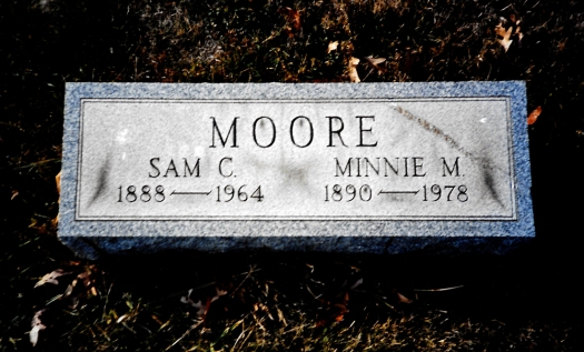 Sam Moore tomb