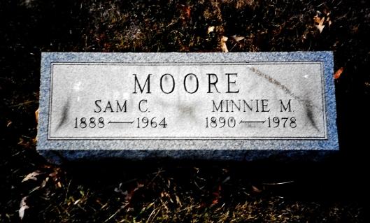 Sam Moore tomb