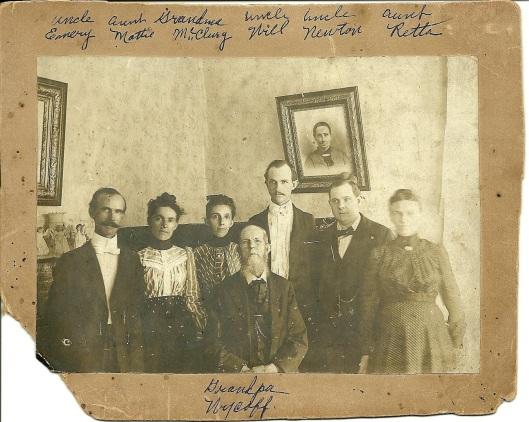 John McCullough Wycoff Family