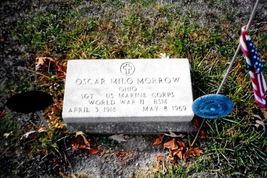 Oscar Milo Morrow tomb